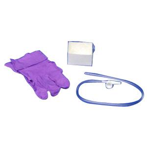 Argyle Graduated Suction Catheter Tray with Chimney Valve, 16 Fr 6837524