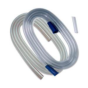 "Argyle™ Suction Tubing Molded Connectors 1/4"" x 6', Non-Sterile  6842450"