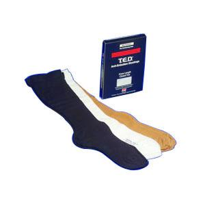 T.E.D™ Knee-Length Continuing Care Anti-Embolism Stockings, Latex-Free, Medium Regular, White  684279