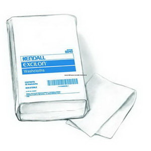 "Kendall White Washcloth 10"""" x 13"""" 686040N"