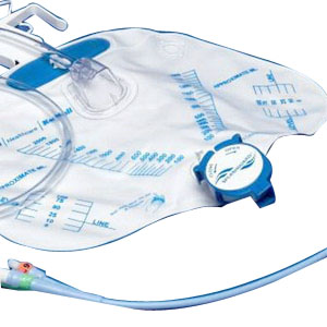 Dover 100% Silicone 2-Way Foley Catheter Tray 16 Fr 5 cc 686146LL