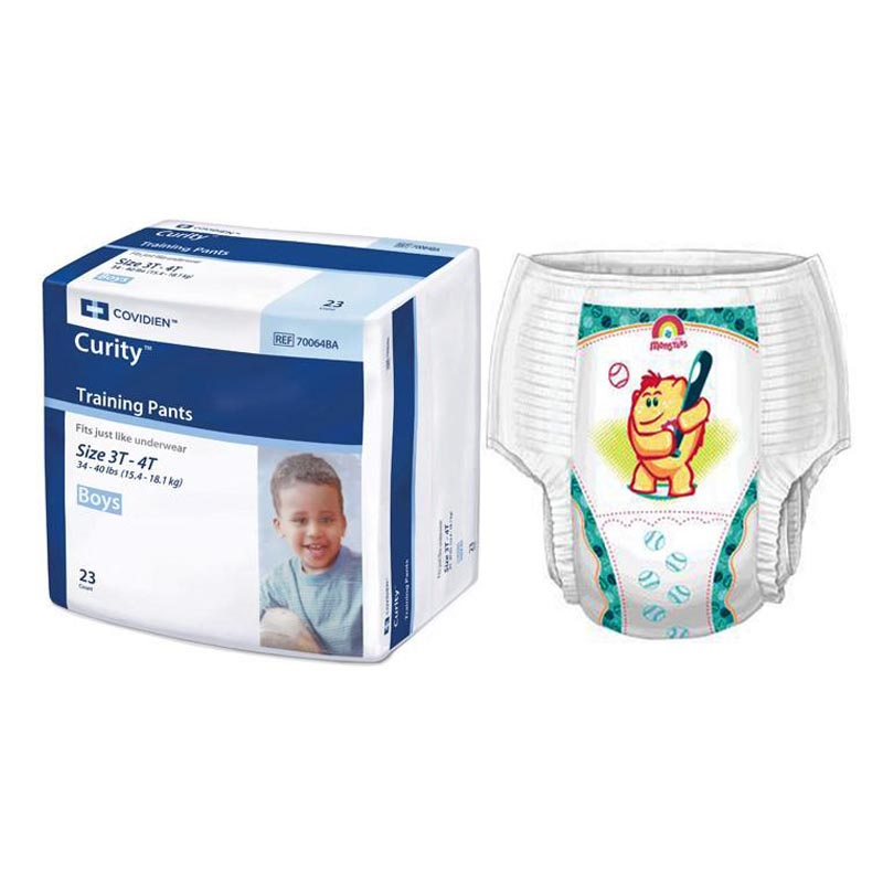 Curity™ Boy Training Pants, 3T/4T, 34-40 lbs. 6870064BA