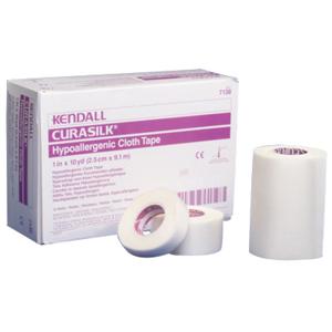 "Kendall Hypoallergenic Silk Tape 1"" x 10 yds 687138C"