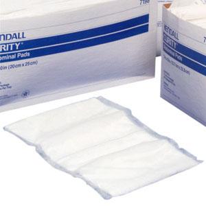 "Curity Sterile Abdominal Pad, 7-1/2"" x 8"" 687197D"