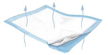 "Wings Plus Breathable Underpads, 23"""" x 36"""" 68988B12"