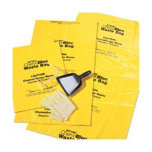 ChemoPlus™ Chemo Soft Waste Bag with Closure Tie 30 gal, Yellow, 4 mil Thickness 68DP5043B