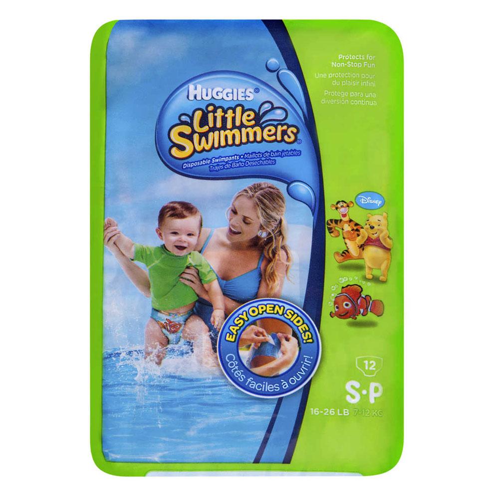 HUGGIES Little Swimmers Swimpants Small, 16-26 lb 6918339