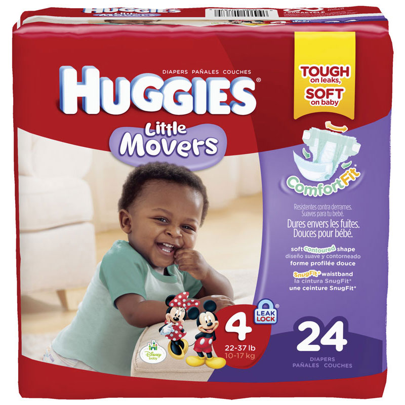 Huggies Little Movers Diapers Step 4 Jumbo Pack 6940767