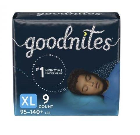 GOODNITES Youth Pants, Extra Large, Boy, Jumbo Pack, Replaces Item 6941315 6953381