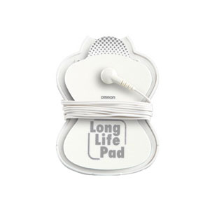 Electrotherapy TENS Pain Relief Long Life Pad Large, Reusable 73PMLLPADL