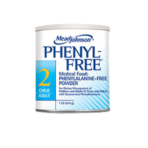 Mead Johnson Co Phenyl-Free® 2 Metabolic Non-GMO Diet Powder 1 lb Can, 1860 Calories  75891301