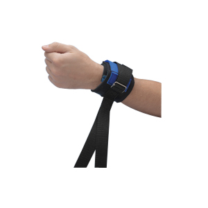 "Posey Twice-as-Tough™ Cuff Quick-Release Ankle, Neoprene, 14-1/2"" L x 2-1/2"" W Cuff, 46"" L Strap 822791Q"