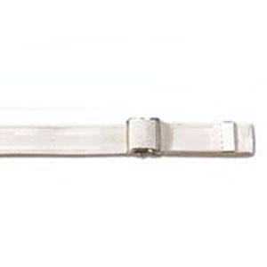 "Posey Company Gait Belt 72"",White, Nickel-Plated 826524L"