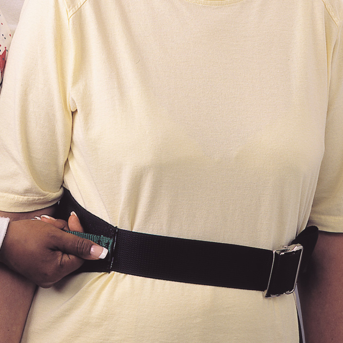 "Deluxe Transfer Belt with Quick-Release Metal Buckle, 30"" - 66"" 826537QDX"