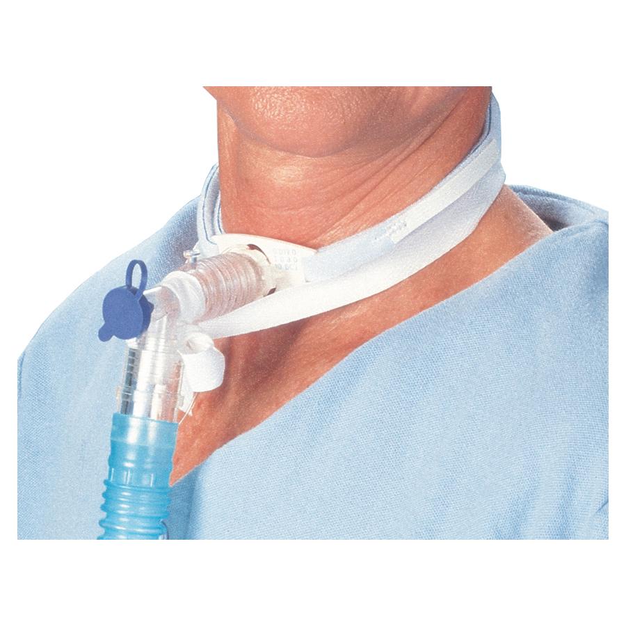 "Posey Company Secure Ties 18-1/2"" x 1"" Medium, Pediatric to Adult Necks 7-10"" 15-1/2"" Tie (2 straps), Soft 828196M"