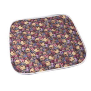 """Salk Company CareFor™ Deluxe Designer Print Reusable Underpad 32"""" x 36"""", Floral Print Printed Top Sheet, Latex-free 841964LP"""