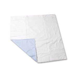 """Salk CareFor™ Economy Reusable Waterproof Underpad with Two 18"""" Drawsheet Flaps, 32"""" x 36"""" 841977"""