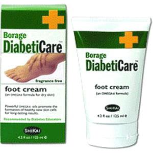 Borage Diabetic Foot Cream 4.2 oz. Tube 8440320