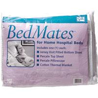 Salk Company Bedmates Home Hospital Bedding Set, Sterile, Latex-free 847000