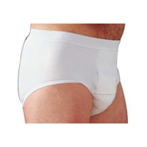 "Salk Company HealthDri™ Men's Heavy Briefs Large, 38"" to 40"" Waist, Washable, Latex-free 84BH00L"