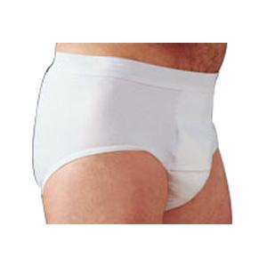 "Salk Company HealthDri™ Men's Heavy Briefs Small, 30"" to 32"" Waist, Washable, Latex-free 84BH00S"