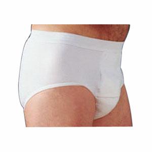 "Salk Company HealthDri™ Men's Heavy Briefs 2Extra-large, 46"" to 48"" Waist, Washable, Latex-free 84BHXXL"
