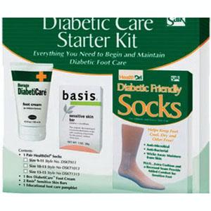 Salk Diabetic Foot Care Starter Kit, Size 10-13 84DSKT1013
