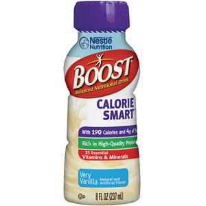 Boost® Calorie Smart™ with 190 Cal, 8 oz, Very Vanilla 8500041679473730