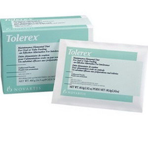 Tolerex Maintenance Elemental Diet Unflavored 2.82 oz. packet 85045805