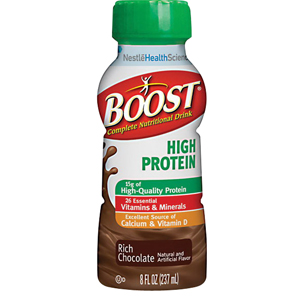 Boost® High Protein Nutritional Energy Drink 8 oz, Rich Chocolate, 240 Cal 8509403600