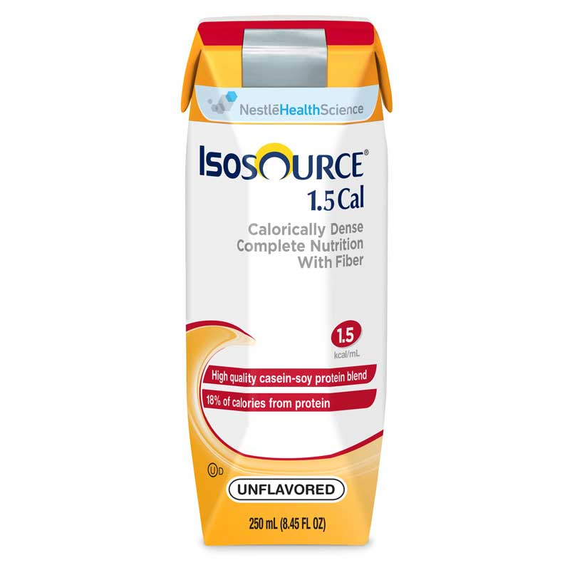 Nestle Isosource® 1.5 Cal Complete Unflavored Liquid Food, 250mL Can 85181500