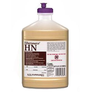 Nestle Healthcare Nutrition Fibersource® HN Nutritionally Complete Liquid Food 1000mL Closed System Container, 300kCal/250mL, Lactose-free, Gluten-free 85185801