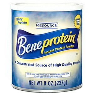 Nestle Healthcare Nutrition Resource® Beneprotein Instant Protein Unflavored Powder 8Oz Canister, 25kCal, Lactose-free, Gluten-free 85284100