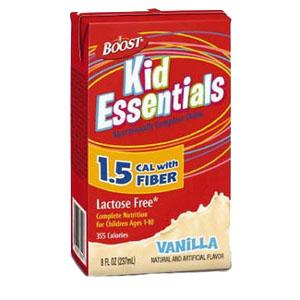 Boost Kid Essentials 1.5 Nutrition Vanilla Flavor with Fiber 8 oz. 85335000