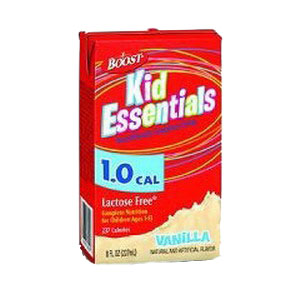 Nestle Boost® Kid Essentials 1.0 Nutrition Vanilla Flavor Drink, 8 oz Brik Pak 85335100