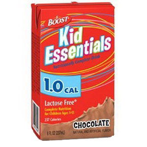 Boost Kid Essentials 1.0 Nutrition Chocolate Flavor 8 oz. Brik Pak 85335200