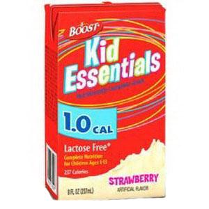 Boost Kid Essentials 1.0 Nutrition Strawberry Flavor 8 oz. Brik Pak 85335300
