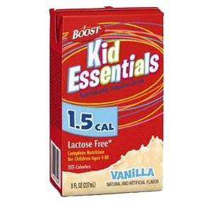 Boost Kid Essentials 1.5 Nutrition Vanilla Flavor 8 oz. 85335400