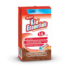 Nestle Healthcare Nutrition Boost® Kid Essentials 1.5 Nutrition Chocolate Flavor Drink 8 oz Brik 853358000