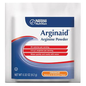 Nestle Arginaid® Arginine-Intensive Orange Flavor Drink Mix Powder, 9.2g Packet 85359830