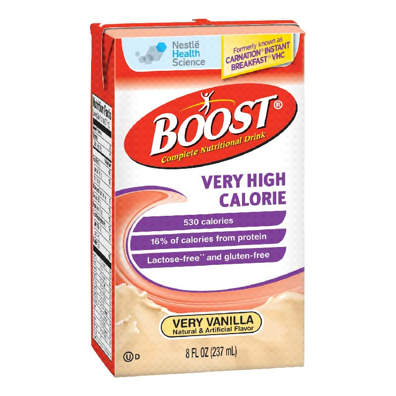BOOST, VHC Vanilla  8 fl Ounce Tetra Brik 854390018216