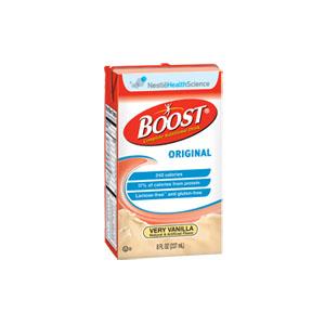 Nestle Boost® Original Nutritional Very Vanilla Drink, 8 oz Tetra Brik 854390067438