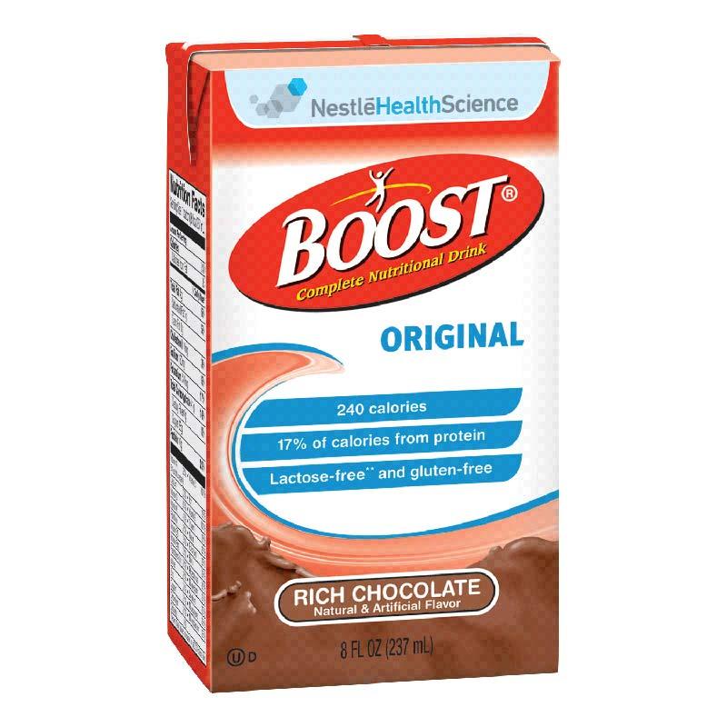 Nestle Boost® Original Nutritional Rich Chocolate Drink 8 oz, 240 Cal 854390067538