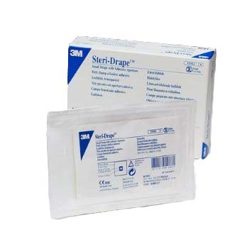 Steri-Drape With Adhesive Aperture And Pouch 881024