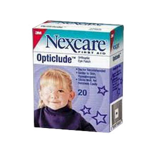 Nexcare Opticlude Eye Patch Jr 20's 881537