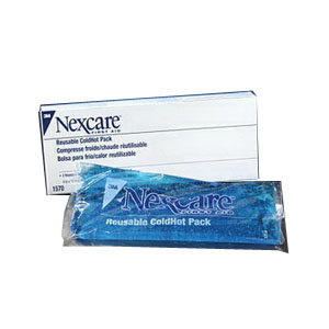 "Nexcare Reusable Cold Hot Pack with Cover 4"""" x 10"""" 881570"