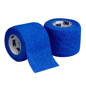 "Coban Self-Adherent Wrap 4"""" x 5 yds., Blue 881584B"