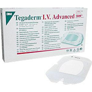 "Tegaderm I.V. Transparent Adhesive Advanced Securement Dressing 4"""" x 4-3/4"""" 881688"