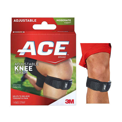 Ace Knee Brace with Strap, Latex-Free 88207359