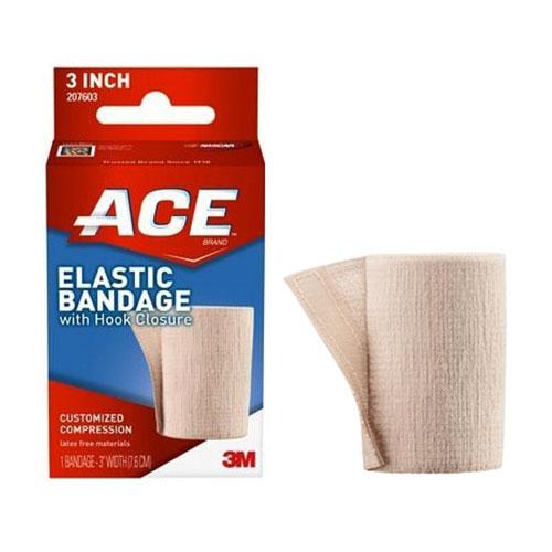 """Ace Elastic Bandage with Hook Closure, 3"""""""" 88207603"""